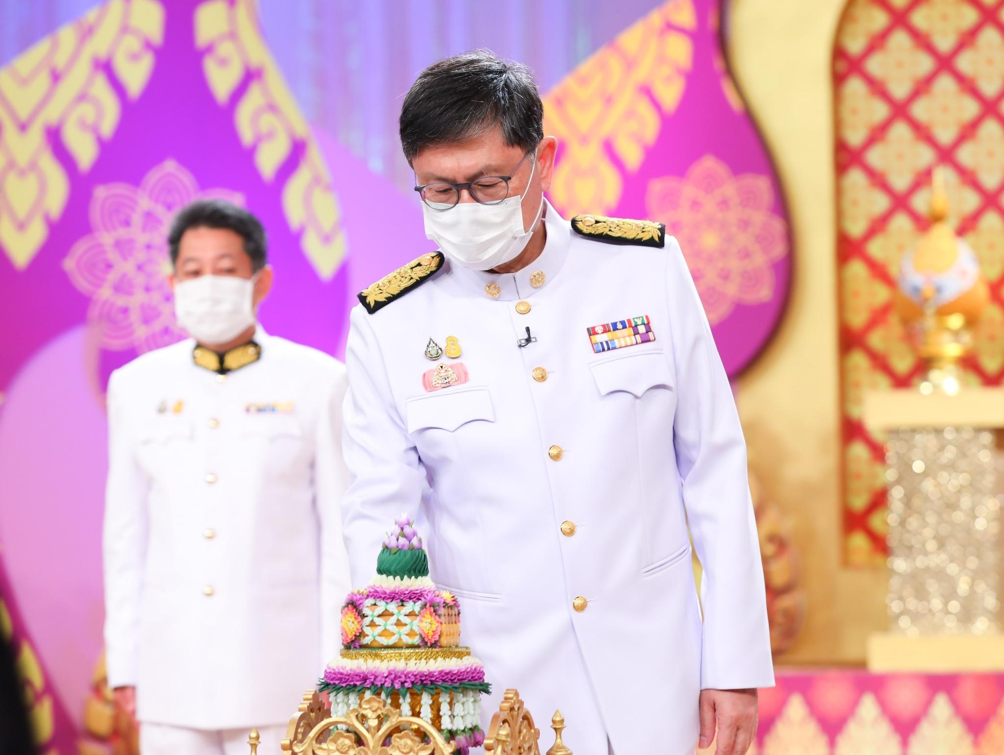 ข่าวรัฐมนตรี - บันทึกเทปถวายพระพร เนื่องในโอกาสมหามงคลเฉลิมพระชนมพรรษา  สมเด็จพระนางเจ้าสุทิดา พัชรสุธาพิมลลักษณ พระบรมราชินี